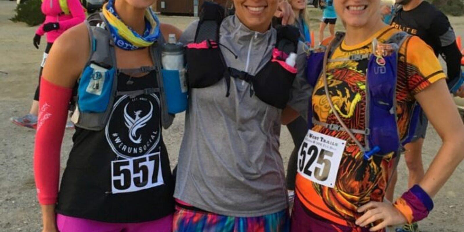 Old West 50k, Runner Friends, Desert Running, trail running, ultra, lululemon, ink n burn, we run social, altra
