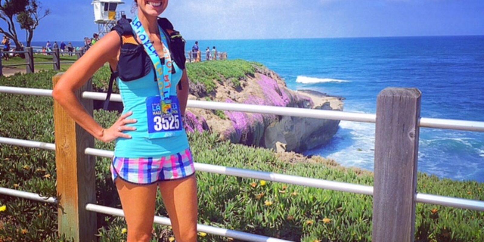 Post Race Shot La Jolla Half Marathon