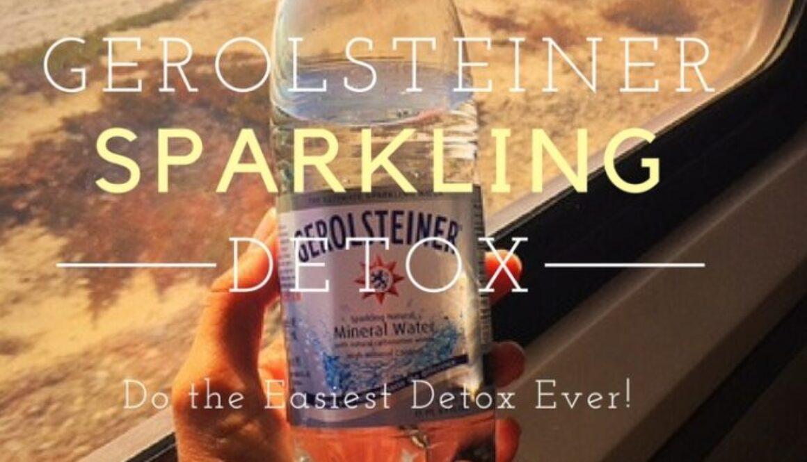 Gerolsteiner Sparkling Detox