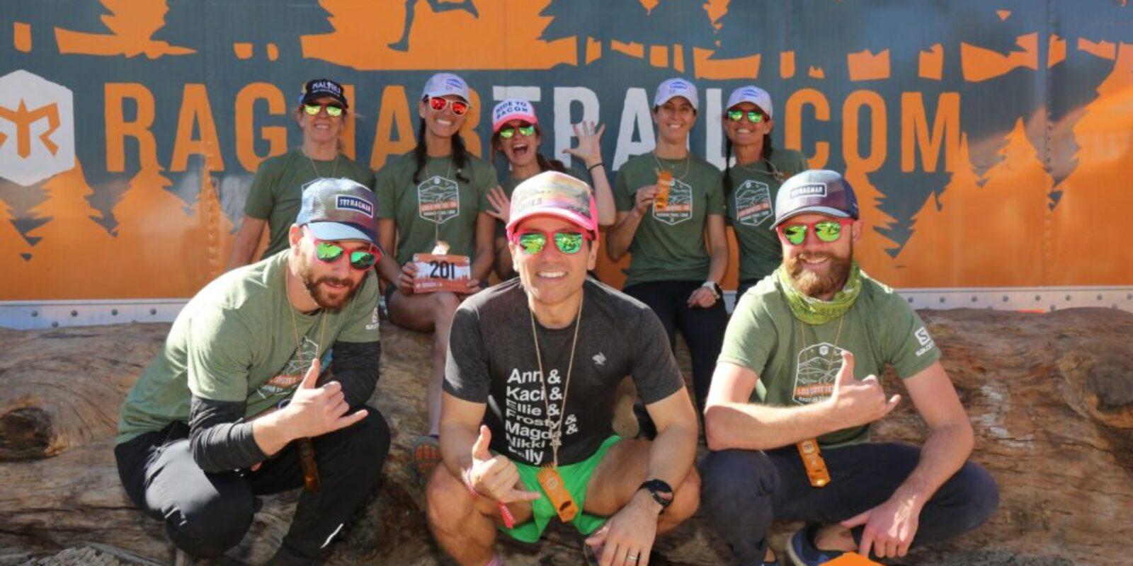 Sweat Pink Ragnar Los Coyotes Recap